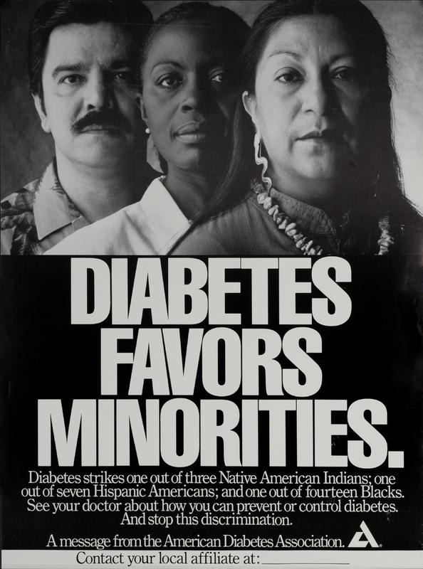 """Diabetes Favors Minorities"""
