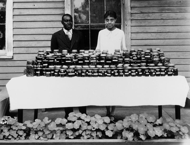 """Negro Family Budget of Canned Fruit and Vegetables, Mr. and Mrs. J. E. Bryan, Expert Canners in Their Community,"" May 19, 1928"
