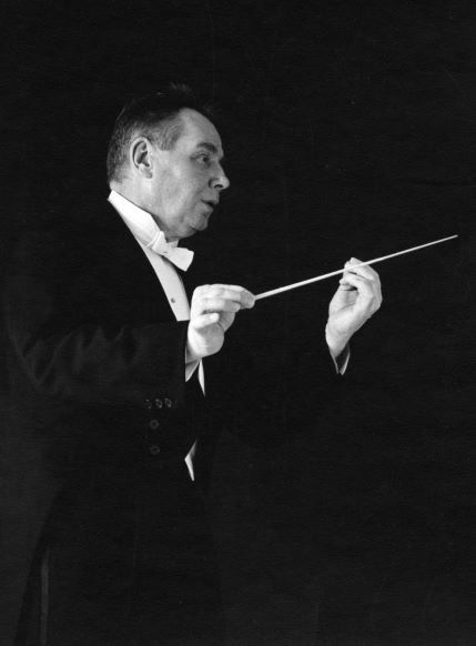 Publicity photograph of conductor Robert Shaw, circa late 1960s