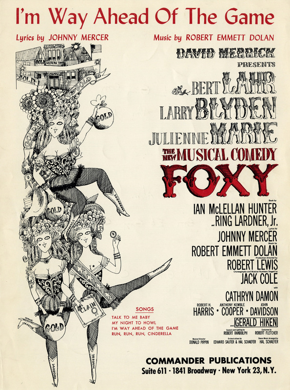 """""""I'm Way Ahead of the Game"""", Foxy, 1964"""