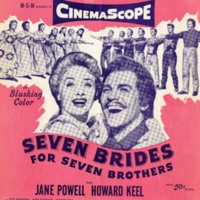 """""""Goin' Co'tin"""", Seven Brides for Seven Brothers, 1954"""