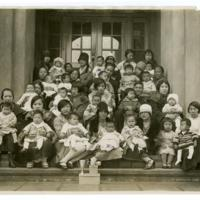 Chinese Well Baby Contest sponsored by the Chinese YWCA, San Francisco, 1928