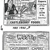 Castleberry Capers newspaper ads