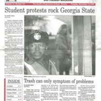 Student Protests Rock Georgia State