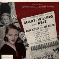 """""""Too Marvelous for Words"""", Ready, Willing and Able, 1937"""
