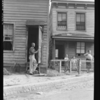 Housing. Richmond, Virginia. Twelve dollars a month for three rooms, photo by Dorthea Lange, 1938