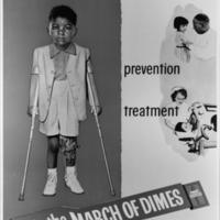 """""""Fight Polio"""" (young black child)"""
