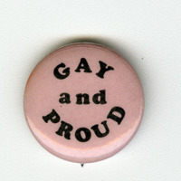 Button -- Gay and Proud
