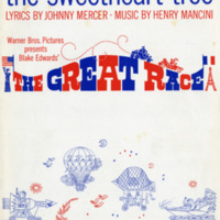 """The Sweetheart Tree"", The Great Race, 1965"