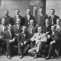 International Association of Machinists members, circa 1890s or 1900s