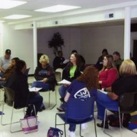 Photograph of Foreverfamily workshop