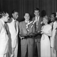 Johnny Mercer with Capitol Records artists