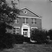 Infantile Paralysis Center at Tuskegee Institute, Tuskegee, Alabama, ca. 1945