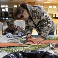 The Northwest Indian Fisheries Commission, a support service organization for twenty treaty Indian tribes in western Washington, encourages salmon eating in traditional contexts.&lt;br /&gt;<br />