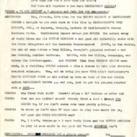 Script for WGST (Atlanta) Castleberry Capers, May 11, 1940