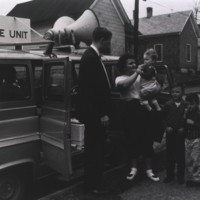 Mobile Immunization Clinic, Public Health Service, ca. 1955