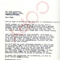 Letter from Don Naylor, WGST (Atlanta) to Hugh Deadwyler, Nachman-Rhodes, Inc., May 18, 1940