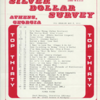 WRFC (Athens) Silver Dollar Survey, May 2, 1969
