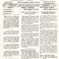 WSB Hive newsletter, May 26, 1937