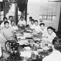 Environmental sanitation course led by the Communicable Disease Center in Phoenix, Arizona, 1952