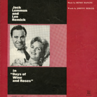 """Days of Wine and Roses"", Days of Wine and Roses, 1962"