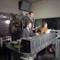 Group in WSB control room