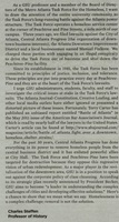 The Georgia State University Signal Letter to the Editor describing the pressures being applied by the city to shut Peachtree-Pine down, The Signal, 2011-11-01