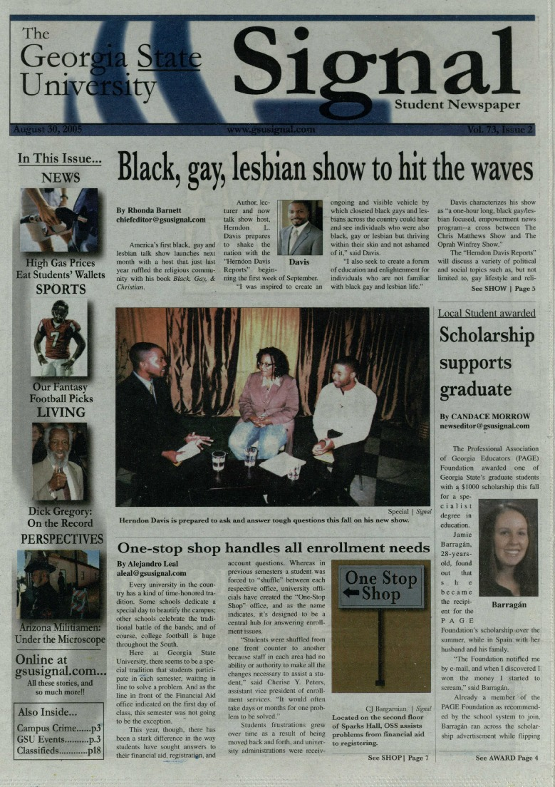 Black, gay, lesbian show to hit the waves