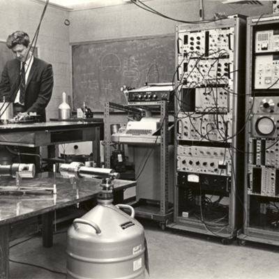 Nuclear instrumentation in Kell Hall