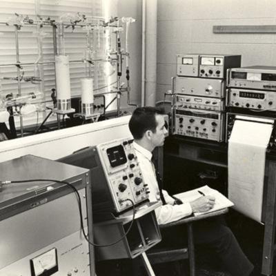 Microwave spectrometer in Kell Hall