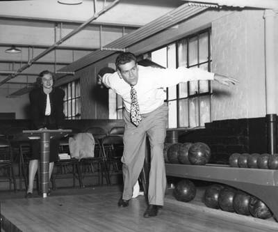 Bowling in the Ivy Street Building
